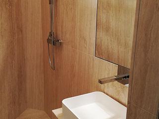 Canalmarmi e Graniti snc Minimalist style bathroom Marble Beige