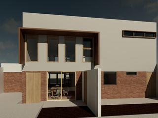 Contreras Arquitecto Casas de estilo minimalista