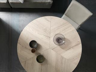 Origami o tavolo? Scopri Icaro! Mobili a Colori Sala da pranzo moderna Legno composito Effetto legno