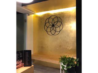 DE LEON PRO Ruang Komersial Minimalis Amber/Gold