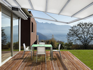 Parasoles Tropicales - Arquitectura Exterior Moderne Hotels Aluminium/Zink