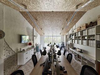 理絲室內設計|Ris Interior Design Workspace 理絲室內設計有限公司 Ris Interior Design Co., Ltd. 書房/辦公室 刨花板 Grey