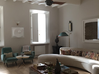 Casa MS Manuela Tognoli Architettura Soggiorno eclettico