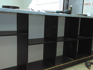 Remodelación casa campestre - Subia, Cundinamarca NetCom Construcciones Armarios de cocinas