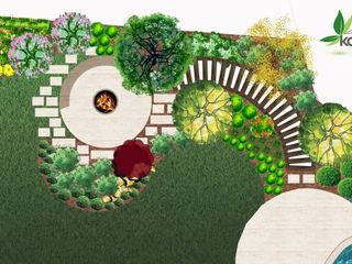 ÖZEL KONUT Peyzaj Projelendirme & Landscaping Project konseptDE Peyzaj Fidancılık Tic. Ltd. Şti.