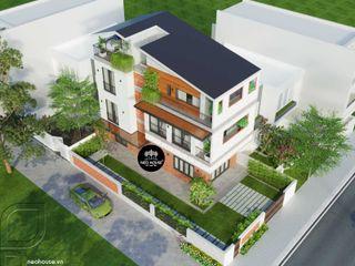 Biệt thự phố 3 tầng hiện đại NEOHouse