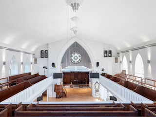 Christ Church Hart Design and Construction Modern commercial spaces