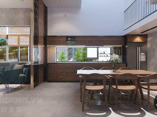 Thiết kế thi công nội thất biệt thự phố 3 tầng tại quận 12 NEOHouse KitchenAccessories & textiles