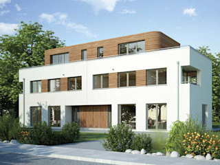 Dreifamilienhaus in Großhadern ECOLINE Holzsystembau GmbH & Co. KG Mehrfamilienhaus