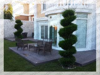 Deck Sistemleri Jardines de estilo moderno Compuestos de madera y plástico Marrón