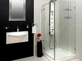 Oferta Premium - 1530 € Decobath Baños de estilo moderno Vidrio Metálico/Plateado
