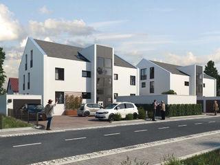 Mühlanger 22 24: Exklusive Wohnungen in Dinkelscherben bei Augsburg ECOLINE Holzsystembau GmbH & Co. KG Mehrfamilienhaus