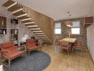 Arredo Casa Colonica studiosagitair Sala da pranzo in stile rustico