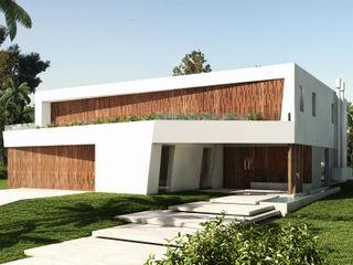 Casa Diagono Maximiliano Lago Arquitectura - Estudio Azteca Casas modernas: Ideas, imágenes y decoración