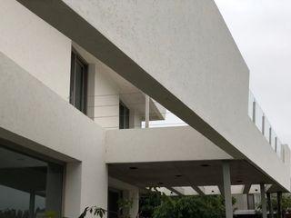 Casa Nautica Maximiliano Lago Arquitectura - Estudio Azteca Paredes y pisos modernos