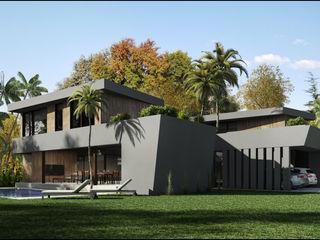 Casa Isósceles Maximiliano Lago Arquitectura - Estudio Azteca Casas modernas: Ideas, imágenes y decoración