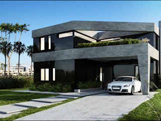 190 Maximiliano Lago Arquitectura - Estudio Azteca Casas modernas: Ideas, imágenes y decoración