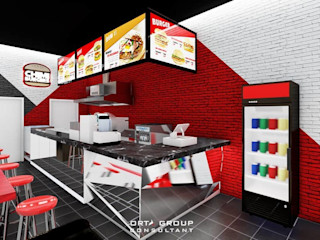 chimi burger ORTA VISUAL Gastronomi Modern