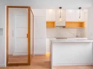 FEMMA Interior Design Kitchen units Marble White