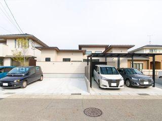ナイトウタカシ建築設計事務所 Wooden houses Concrete White