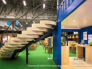 Container Rental and Sales (Pty) Ltd Industrial style exhibition centres