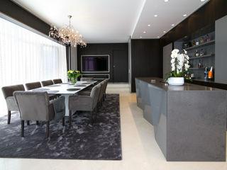 Marcotte Style Modern Living Room Granite White