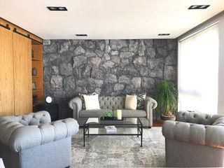 Departamento Bosque Real Urbyarch Arquitectura / Diseño Salones clásicos
