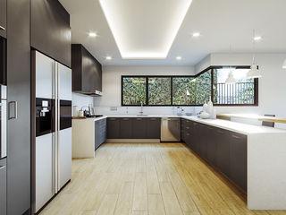 Proyecto Club Aleman Urbyarch Arquitectura / Diseño Cocinas rústicas