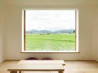 Mimasis Design/ミメイシス デザイン Cửa sổ gỗ Gỗ Wood effect