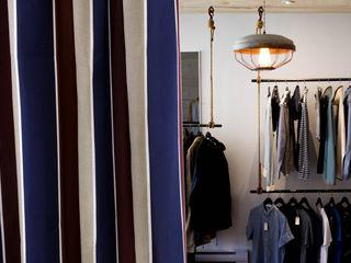 注入百年老店工藝的Zosen日本進口訂製窗簾|布簾.紗簾.遮光窗簾布 MSBT 幔室布緹 辦公空間與店舖 亞麻織品 Blue