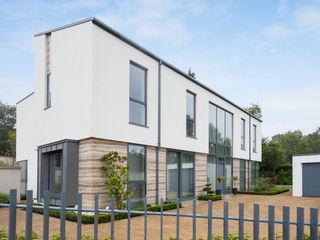 Large Contemporary Glazing Project Marvin Windows and Doors UK Windows & doors Windows Aluminium/Seng Grey