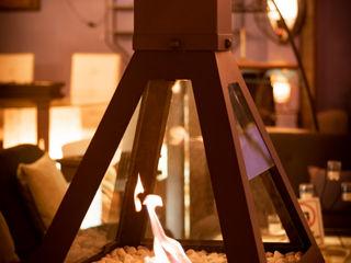 Chimeneas Aranza CasaAccessori & Decorazioni Metallo Marrone