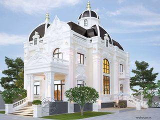 Thiết kế biệt thự cổ điển đẹp 1 tầng độc đáo và sang trọng NEOHouse
