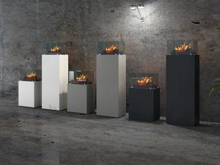 muenkel design - Elektrokamine aus Großentaft Oficinas y tiendas