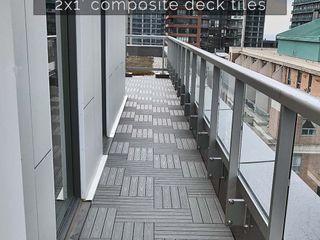 Outdoor Floors Toronto Modern Terrace Wood-Plastic Composite Grey