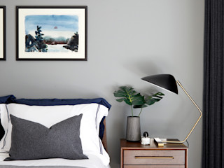 Benson House Sandra Flashman Studio Kamar Tidur Modern