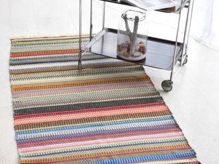 Handgeweven tapijt Lollipop ilsephilips WoonkamerAccessoires & decoratie Wol Bont