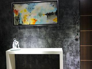 Spazio3Design Living room Sandstone Black
