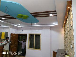 Mm interors モダンスタイルの寝室