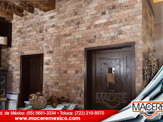 MACERE México Walls & flooringWall & floor coverings Bricks Multicolored