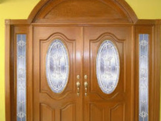 Corporacion Nacional de Closets y Puertas Windows & doors Doors Kayu Wood effect