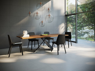 Interceramic MX Modern dining room Ceramic Grey