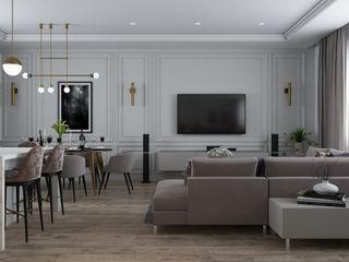 Tatiana Sukhova Living room White