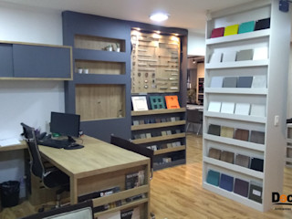 DECORE AMBIENTES Office spaces & stores Wood