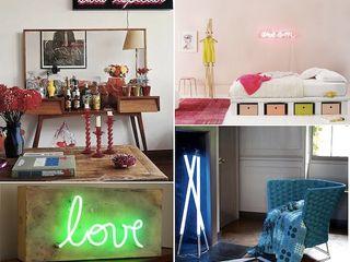 Mew.com Neon Küçük Yatak Odası Cam Rengarenk