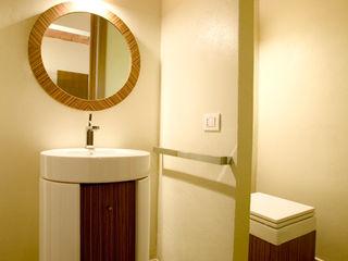 Daniele Menichini Architetti Modern Bathroom Ceramic Wood effect
