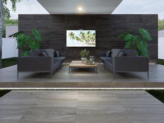 Interceramic MX Modern garden Ceramic Grey