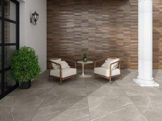 Interceramic MX Modern balcony, veranda & terrace Ceramic Brown