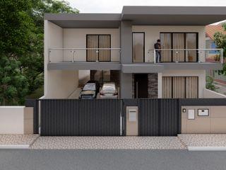 arkhi - arquitetura Villas Concrete Grey
