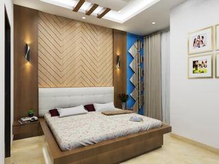 Bedroom INDREM DESIGNS Modern style bedroom